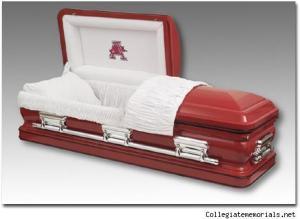 The team coffin