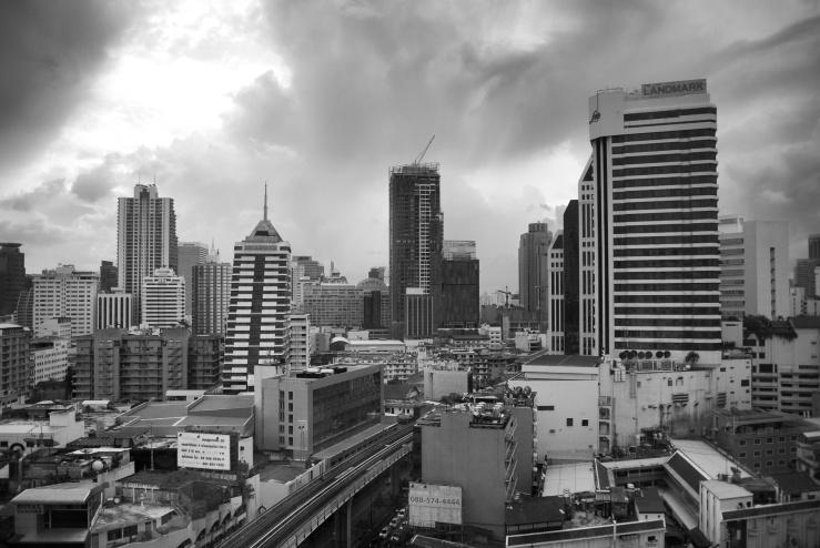 Sunrise in Bangkok